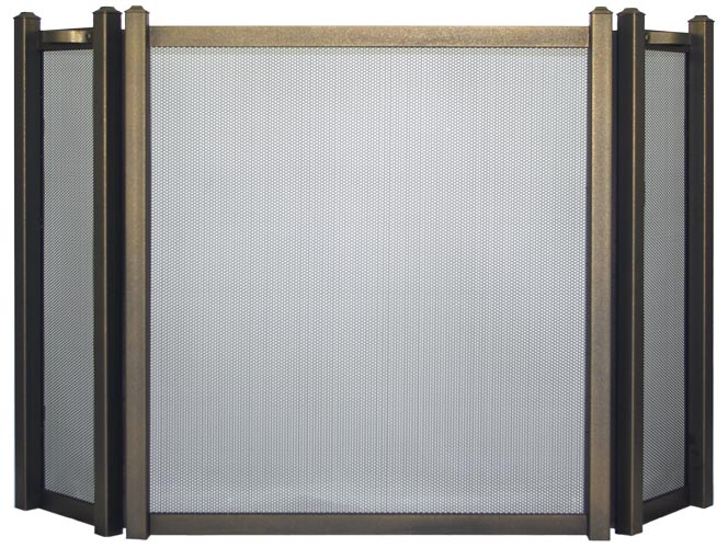Colonial Triple Panel Rectangle