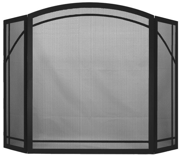 Triple Panel Arch in Matte Black